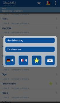 Vokabeltrainer Französisch apk screenshot