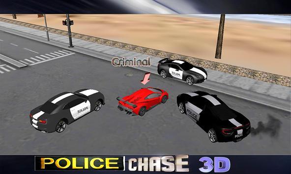 Police Car Chase 2017 screenshot 3