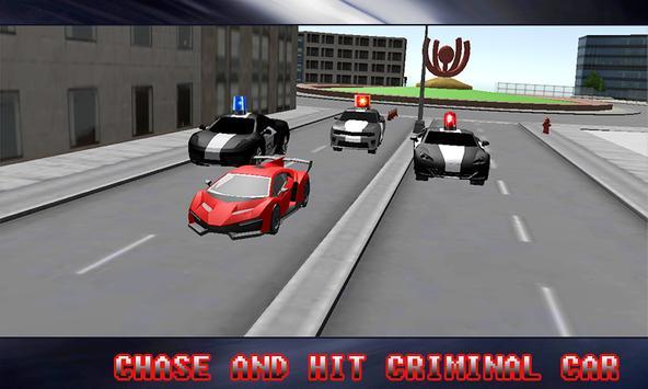 Police Car Chase 2017 screenshot 1
