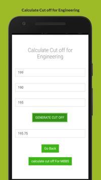 Cut Off Calculator screenshot 1