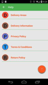 MetroHomeDelivery-OnlineGrocer apk screenshot