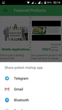 Potent MShop apk screenshot