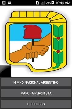 Perón App poster