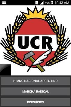 UCR App poster