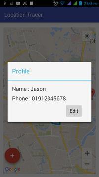 Location Tracer apk screenshot