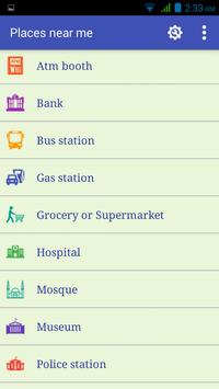 Nearby Place Finder screenshot 1
