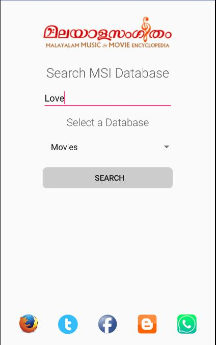 Malayalam Music Database for Android - APK Download