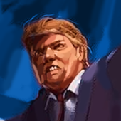 Rump for president icon