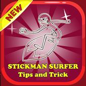 Tips Stickman Surfer Guide icon