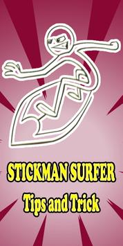 Tips Stickman Surfer Guide poster