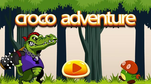Crocodile Adventure Run poster