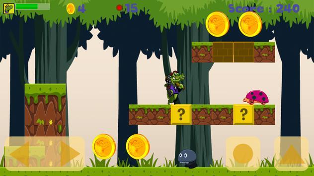 Crocodile Adventure Run apk screenshot