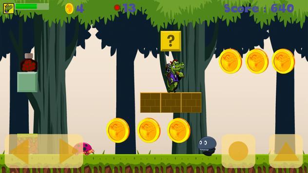 Crocodile Adventure Run screenshot 2