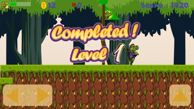 Crocodile Adventure Run screenshot 5