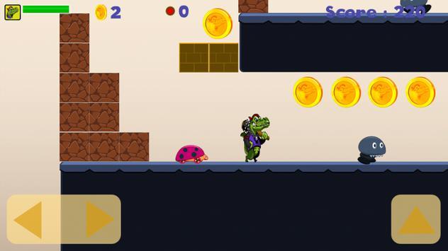 Crocodile Adventure Run screenshot 6