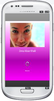 Zena Alisar Khalil poster