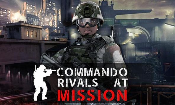 Commando rivals at Mission poster