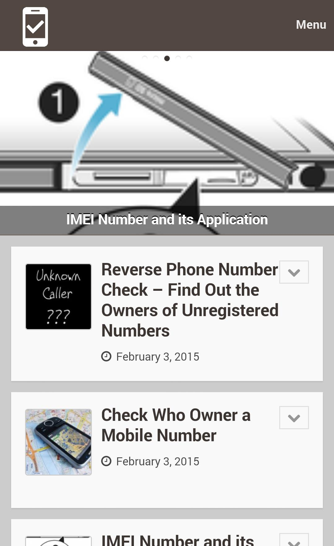 Check Phone Number for Android - APK Download