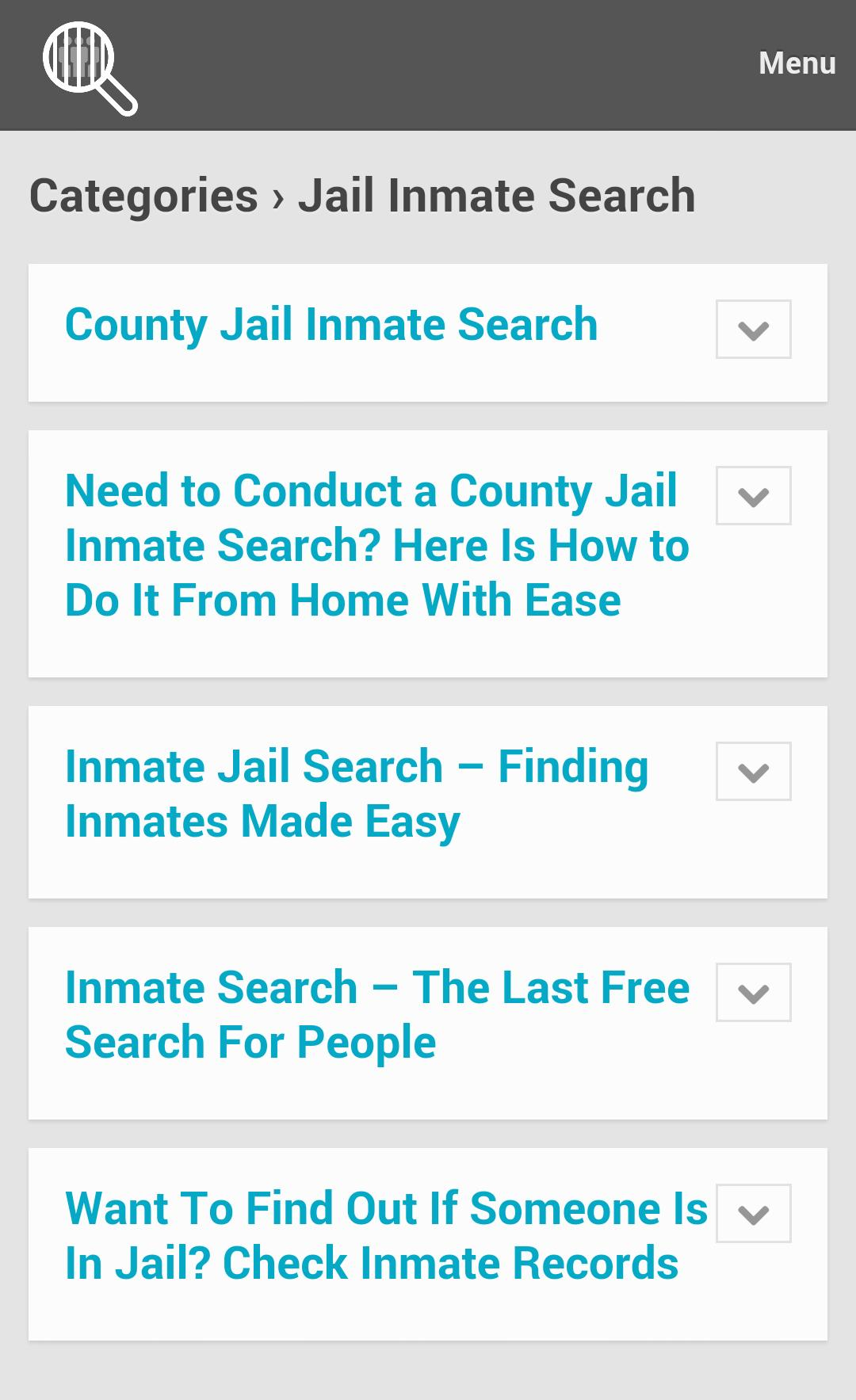 Inmate Search Tips for Android - APK Download