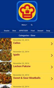 Pinoy food recipes descarga apk gratis salud y bienestar pinoy food recipes captura de pantalla de la apk forumfinder Gallery