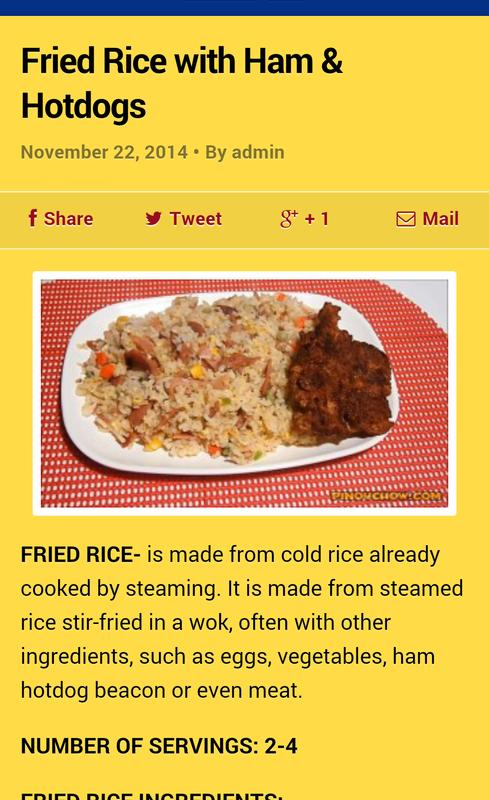 Pinoy food recipes apk download free health fitness app for pinoy food recipes apk screenshot forumfinder Gallery