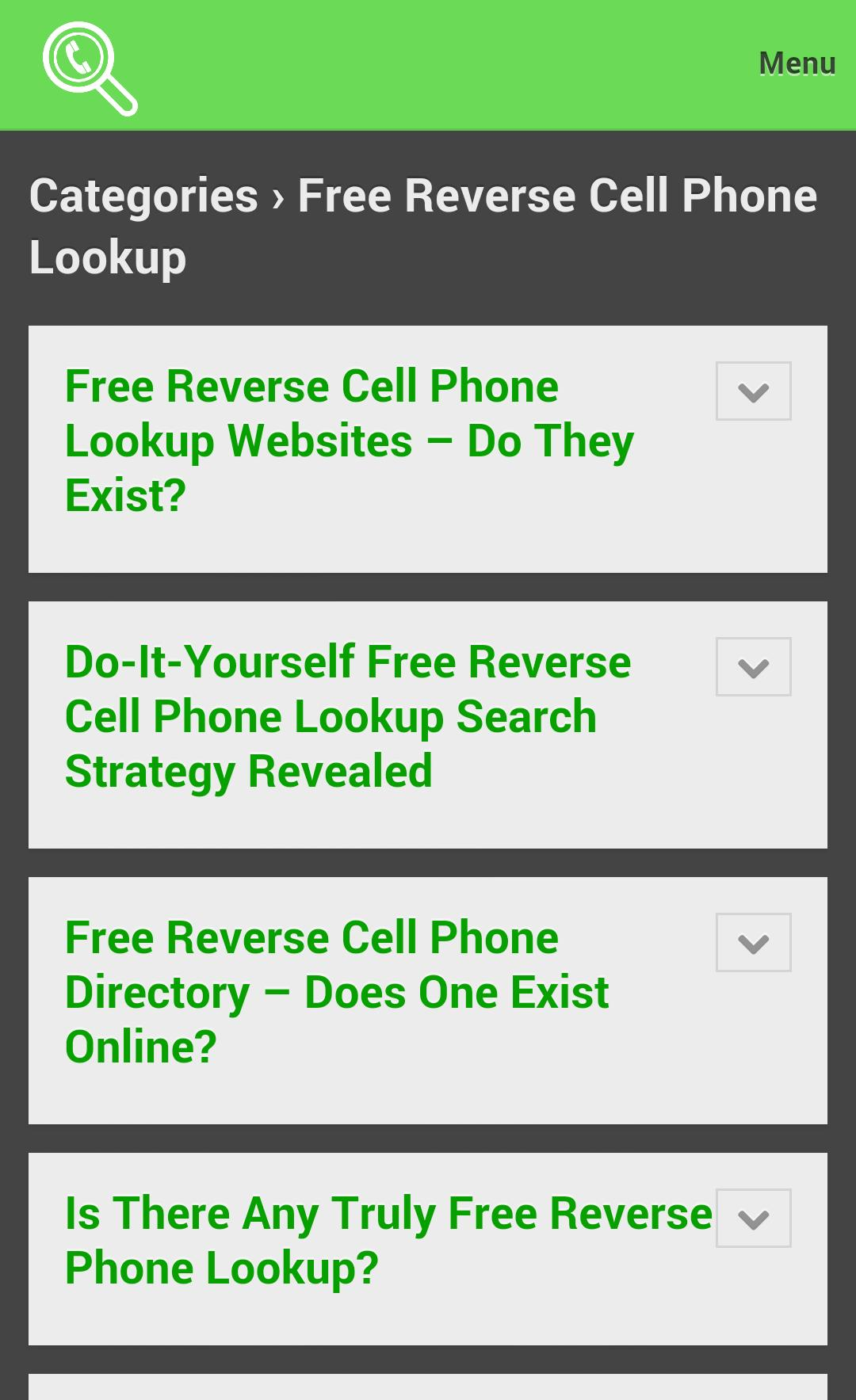 Reverse Cell Phone Lookup for Android - APK Download