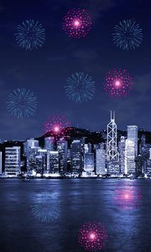 Fireworks 2018 LiveWallpaper poster
