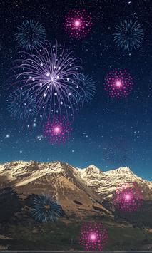 Fireworks 2018 LiveWallpaper screenshot 4