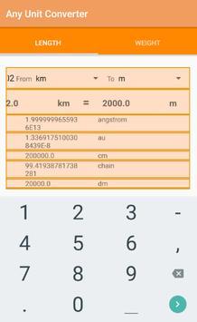 Any Unit Converter apk screenshot