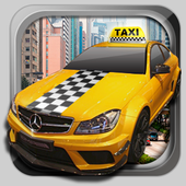 3D Real Taxi Driver icon