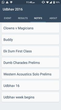 Udbhav 2016 apk screenshot