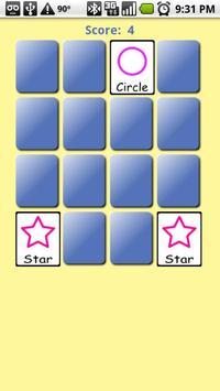 Pre-K Memory Game (free) apk screenshot