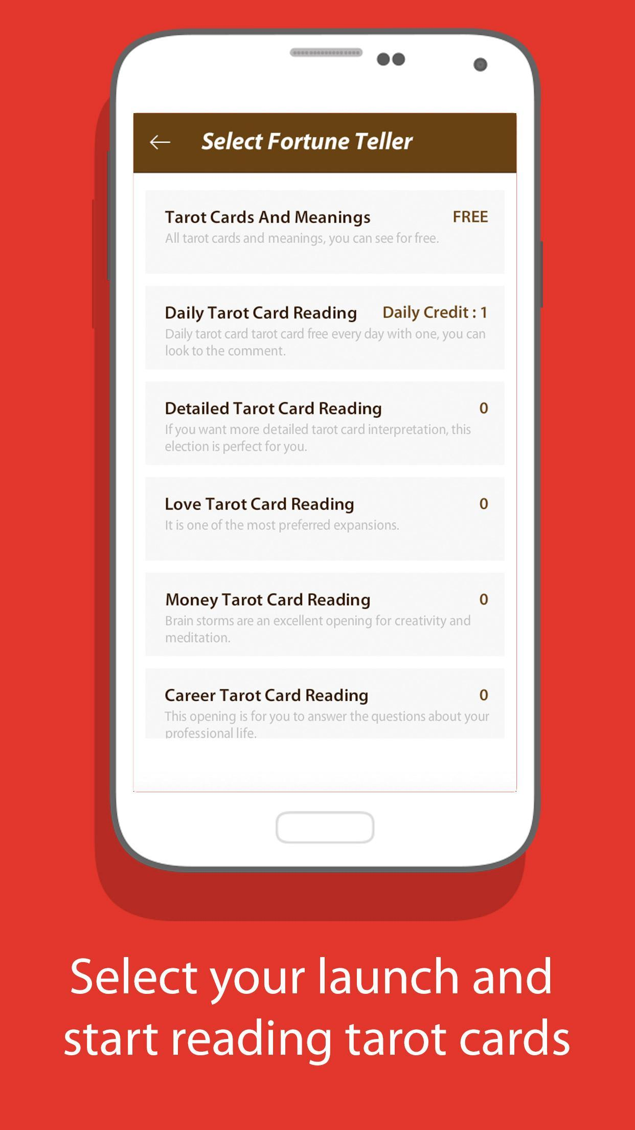 Free Tarot Card Reading - Love, Health, Luck,Money for Android - APK
