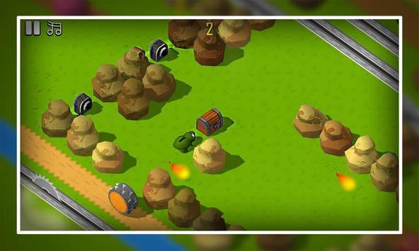 Angry Frog Tap Run apk screenshot