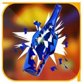 Bottle Shoot 3D Crunch 2017 icon