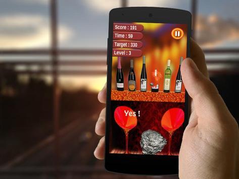 Bottle Shoot 3D Crunch 2017 apk screenshot