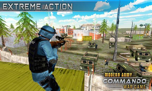 Modern Elite Army Commando War screenshot 5