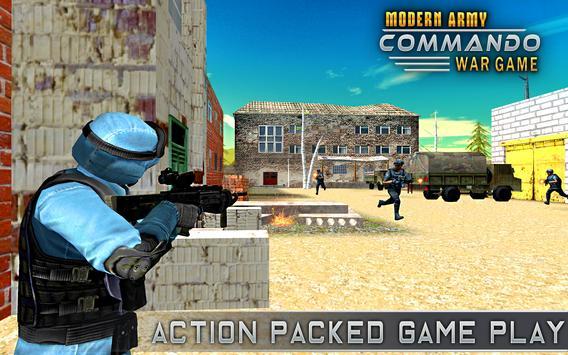 Modern Elite Army Commando War screenshot 8
