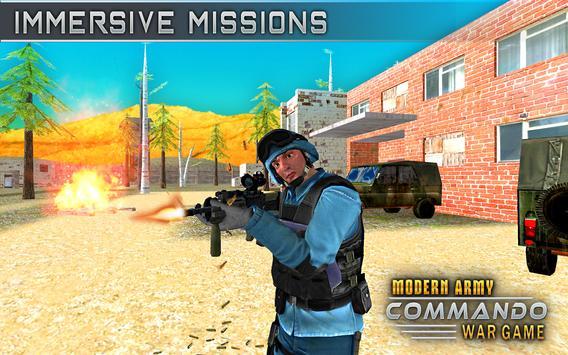 Modern Elite Army Commando War screenshot 9
