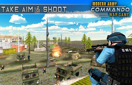 Modern Elite Army Commando War screenshot 13