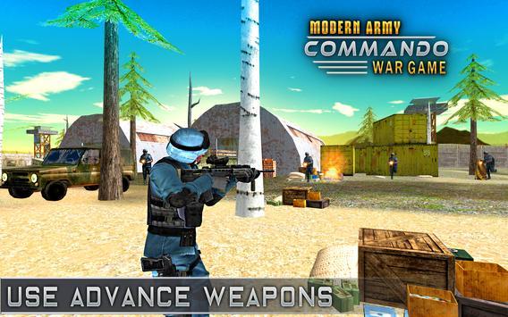 Modern Elite Army Commando War screenshot 10
