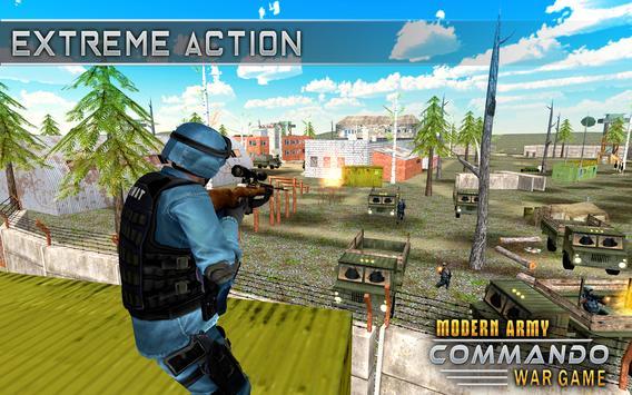 Modern Elite Army Commando War screenshot 11