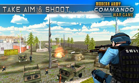 Modern Elite Army Commando War screenshot 1