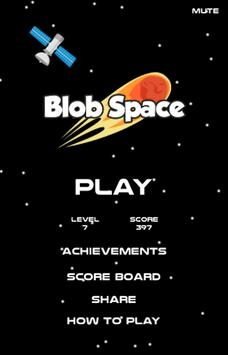 Blob Space poster
