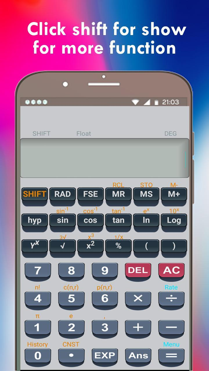Scientific Calculator fx991 ms for Android - APK Download