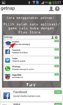 getnap :PULSA GRATIS 5rb-100rb screenshot 5