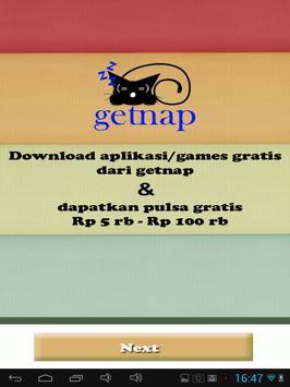 getnap :PULSA GRATIS 5rb-100rb screenshot 7