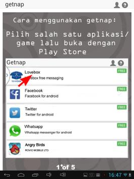 getnap :PULSA GRATIS 5rb-100rb screenshot 8