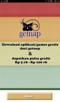 getnap :PULSA GRATIS 5rb-100rb screenshot 11