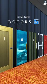 DOOORS 5 - room escape game - poster